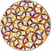 Tapis Kala Rond diamètre 125 cm Nanimarquina