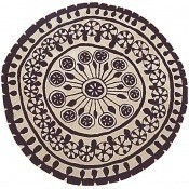 Tapis Rangoli 1 diamètre 200 cm Nanimarquina