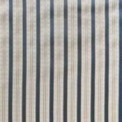 Tissu Rayure Trianon Taupe Nobilis