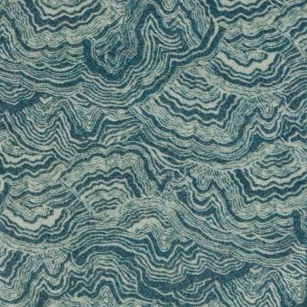 Velours de coton Malachite Camomille Nobilis