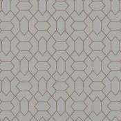 Tissu Tracery Dusk Zinc