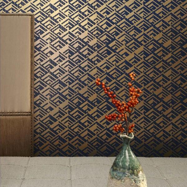 papier peint jakarta nobilis. Black Bedroom Furniture Sets. Home Design Ideas