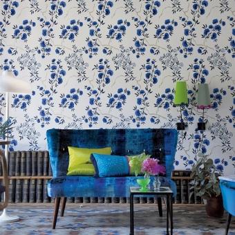 Jacaranda Wallpaper Gold Designers Guild