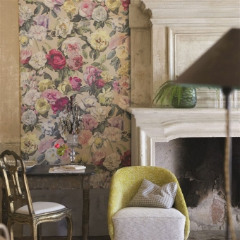 Octavia Wallpaper Linen Designers Guild