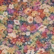 Tissu Flowers of Thorpe Lin Summer Bloom Liberty