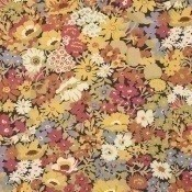 Tissu Flowers of Thorpe Autumn Bloom Liberty