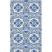 Papier Peint Azulejos Ivoire Christian Lacroix