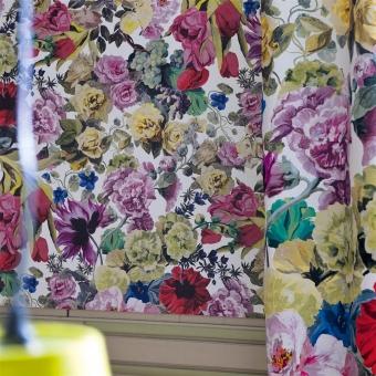 Orangerie Wallpaper Rose Designers Guild