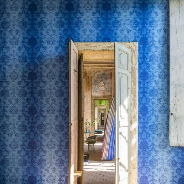 papier peint sukumala designers guild. Black Bedroom Furniture Sets. Home Design Ideas