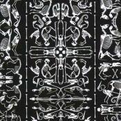 Papier peint Perished Archives Black NLXL by Arte