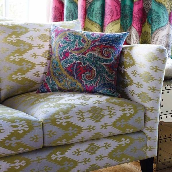 tissu suleyman osborne and little. Black Bedroom Furniture Sets. Home Design Ideas