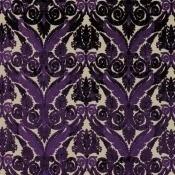 Velours Stuart Damask Amethyst Royal Collection