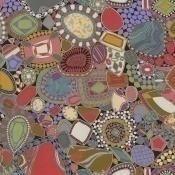 Tissu Rouen Multicolore Missoni Home