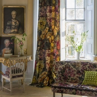 Velours Bloomsbury Rose Damson Designers Guild