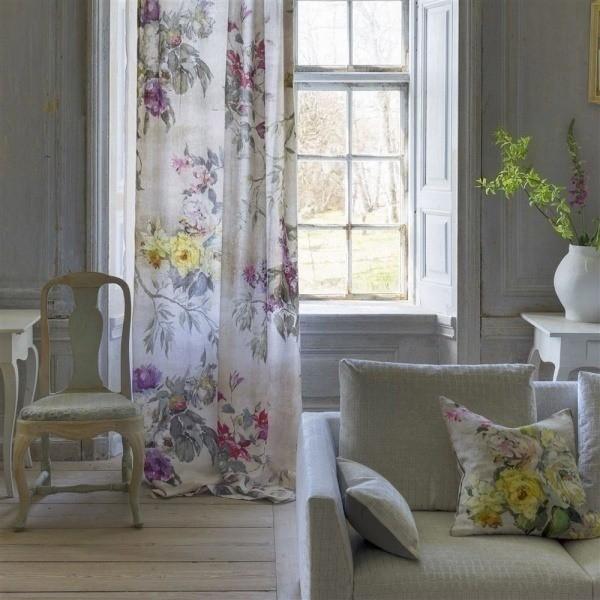 tissu caprifoglio grande designers guild. Black Bedroom Furniture Sets. Home Design Ideas