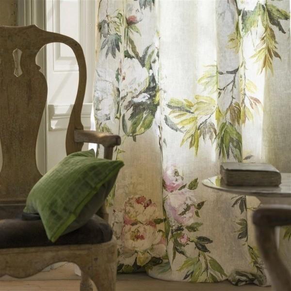 tissu floreale grande designers guild. Black Bedroom Furniture Sets. Home Design Ideas