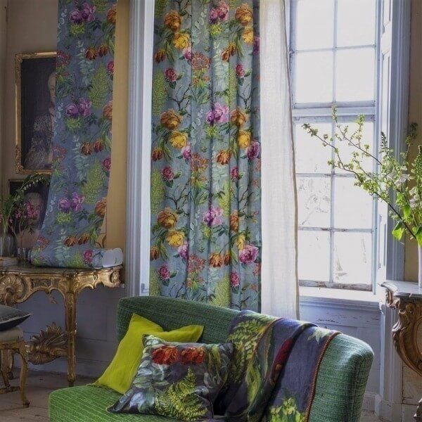 tissu tulipani designers guild. Black Bedroom Furniture Sets. Home Design Ideas