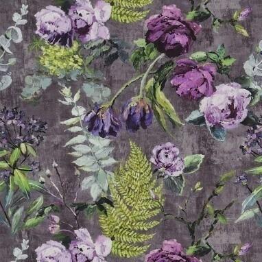 Tissu floral v g tal tissus floraux et motifs fleuris - Tissus fleuris anglais ...
