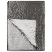Jeté de lit Tiber Slate/Zinc 230x230 cm Designers Guild