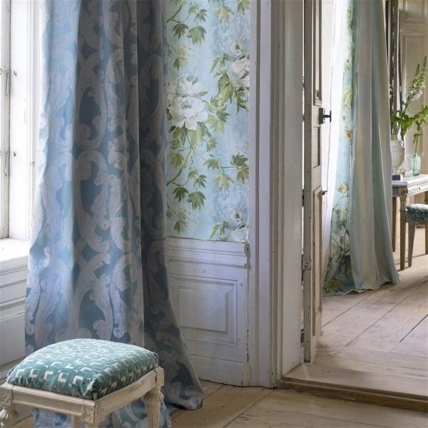 tissu portico designers guild. Black Bedroom Furniture Sets. Home Design Ideas