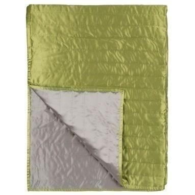 Jeté de lit Tiber Pistachio/Dove 230x230 cm Designers Guild