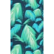 Papier peint Tropicana Petrol/Emeral/Turquoise Matthew Williamson