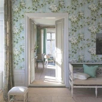 Floréale Wallpaper Céladon Designers Guild