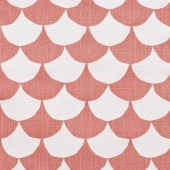 Big Waves Fabric Coral Littlephant