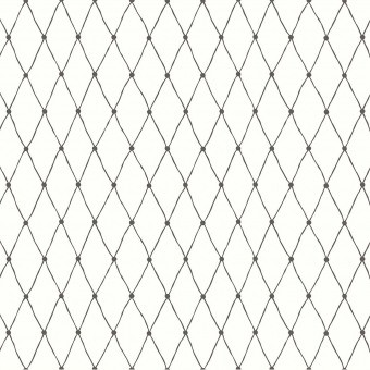 Net Fabric Black/White Littlephant
