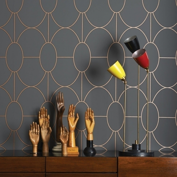 papier peint riviera cole and son. Black Bedroom Furniture Sets. Home Design Ideas