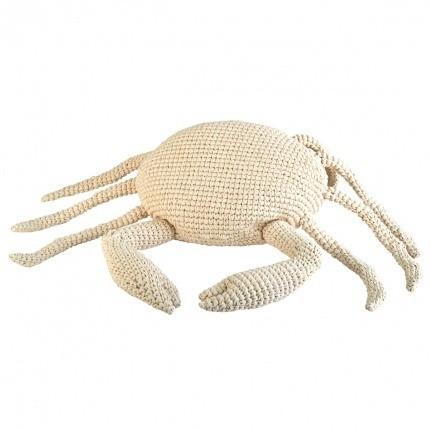 Crabe en crochet Anne-Claire Petit Cream Crab-000-027-016 Anne-Claire Petit