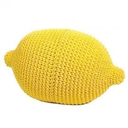 Citron en crochet Anne-Claire Petit Yellow Lemon-000-032-080 Anne-Claire Petit