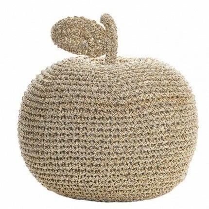 Pomme dorée en crochet Anne-Claire Petit Gold Small-Apple-000-023-222 Anne-Claire Petit