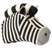 Tête de Zèbre en crochet Charcoal Anne-Claire Petit