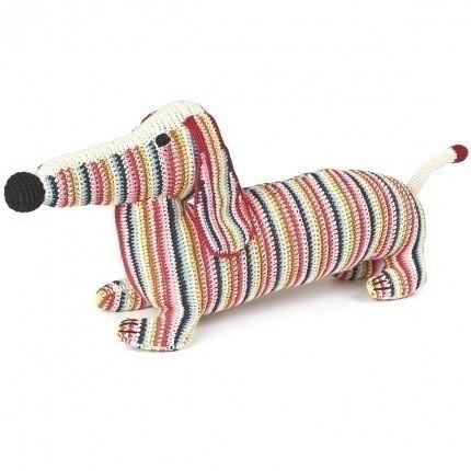 Chien en crochet Anne-Claire Petit New Multi Mama-dachshund-strip-300-054-800 Anne-Claire Petit