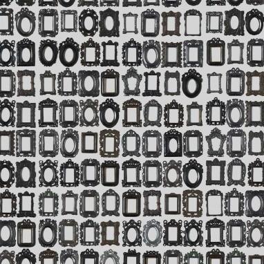 Papier peint Frames Gris Noir NLXL by Arte