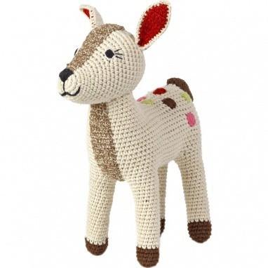 Bambi en crochet Nature Anne-Claire Petit