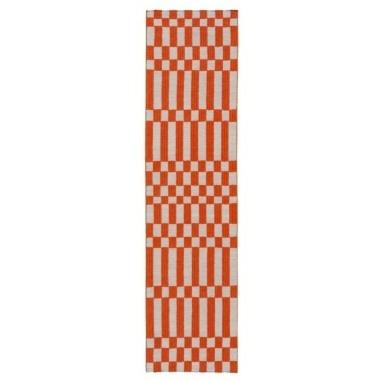 Tapis Bandas Individual B Orange Gan Rugs