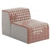 Pouf Chair Bandas A Pink Gan Rugs