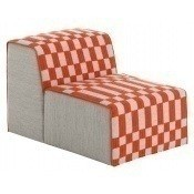 Pouf Chair Bandas B Orange Gan Rugs