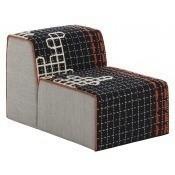 Pouf Chair Bandas D Black Gan Rugs