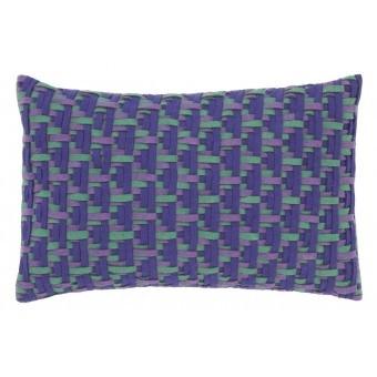 Détroit Cushion Bleu Gan Rugs
