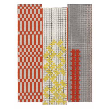 Tapis Bandas Orange 180x250 cm Gan Rugs