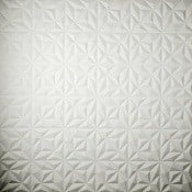 Revêtement mural Rosace 2 Blanc Arte