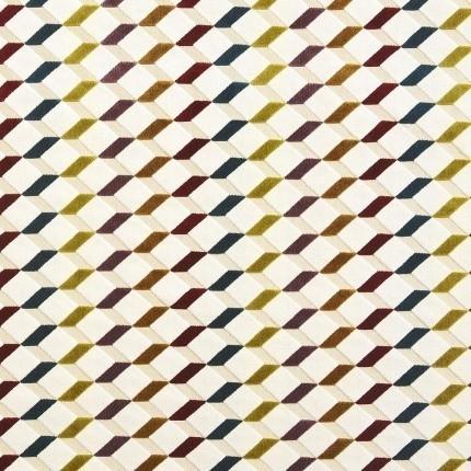 Velours De Lacroix Casamance Brun 7710185 Casamance