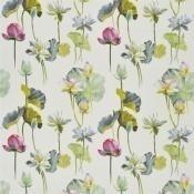 Tissu Fleur de Lotus Camellia Designers Guild