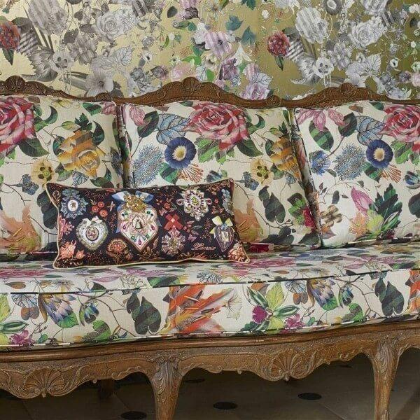 papier peint malmaison christian lacroix. Black Bedroom Furniture Sets. Home Design Ideas