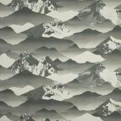 Tissu Yosemite Beige/Brun Nobilis