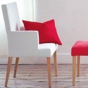 Chaise Newport Dossier bas sans accoudoirs Designers Guild