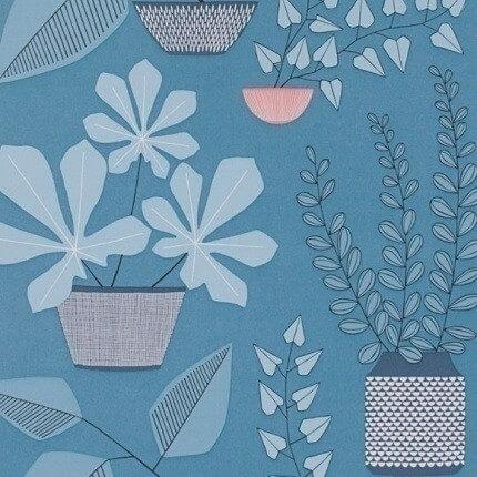 papier peint house plants missprint. Black Bedroom Furniture Sets. Home Design Ideas